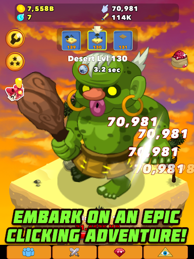 Clicker Heroes - screenshot