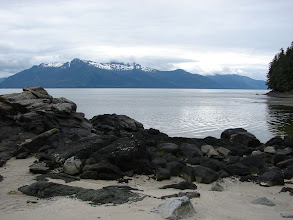 Photo: Looking north up Frederick Sound from my campsite.