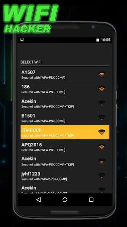Wifi Password Hacker Prank 1.0 screenshot 129867