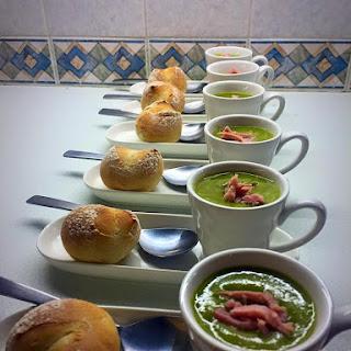 Pea, Ham & Mint Soup