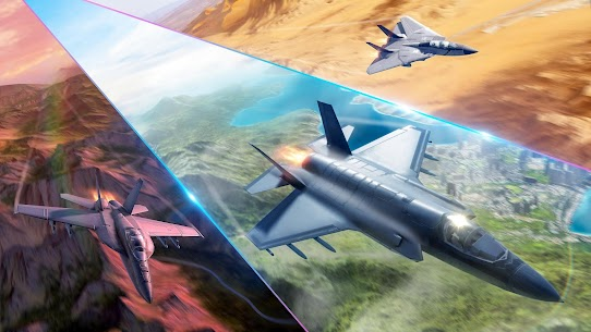Sky Combat: war planes online simulator PVP Mod Apk Download For Android and Iphone 3