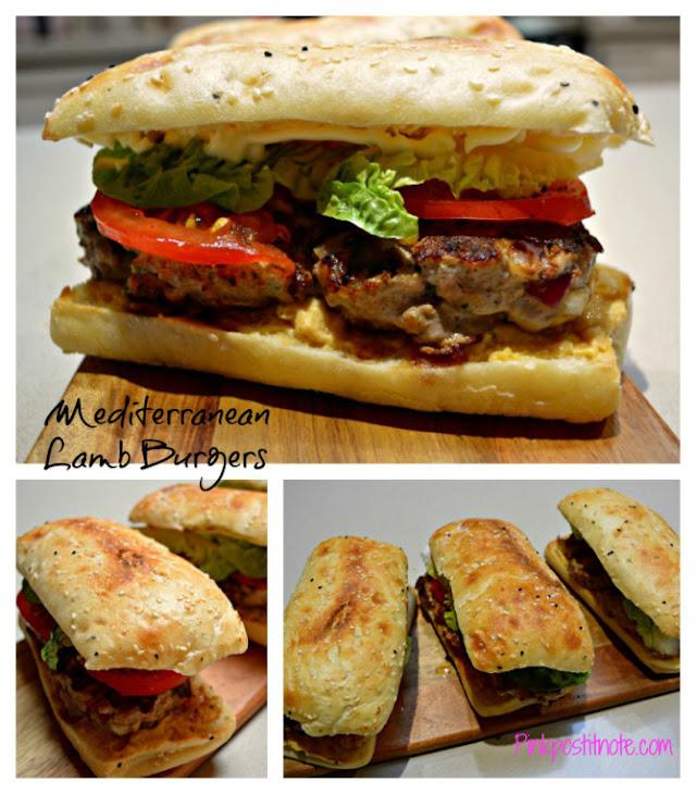 Mediterranean Lamb Burgers Recipe | Yummly