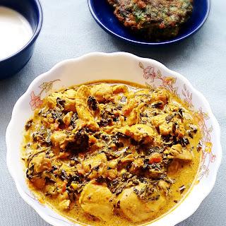 Methi Chicken Recipe - Easy Murgh Methi