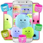 Cute Marshmallow Candy Theme