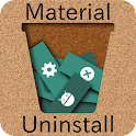 Material Batch Uninstall Free icon