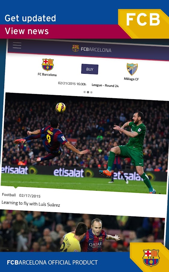 FC Barcelona Official App- screenshot