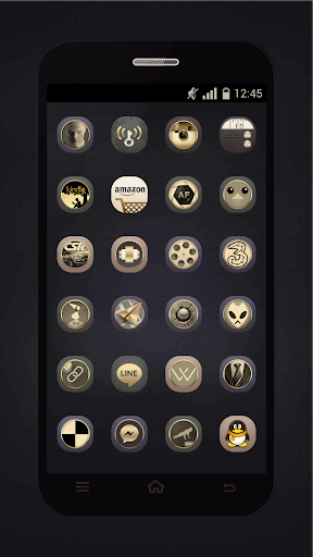 Gold Icons Pro -Cool Icon Pack  screenshots 3