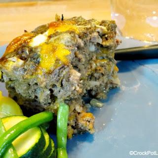 Crock-Pot Low Carb Meatloaf.