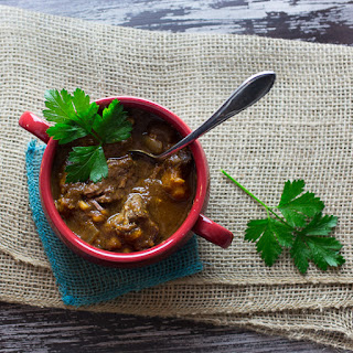 Slow Cooker Spiced Beef Stew with Sweet Potatoes