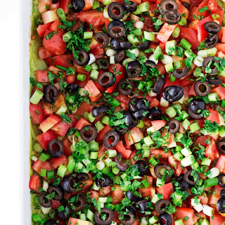 Awesome Ultimate 7 Layer Dip.
