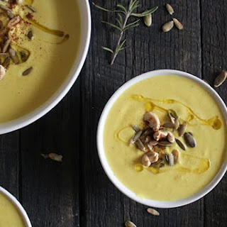 Curry Cashew Cauliflower Soup Recipe
