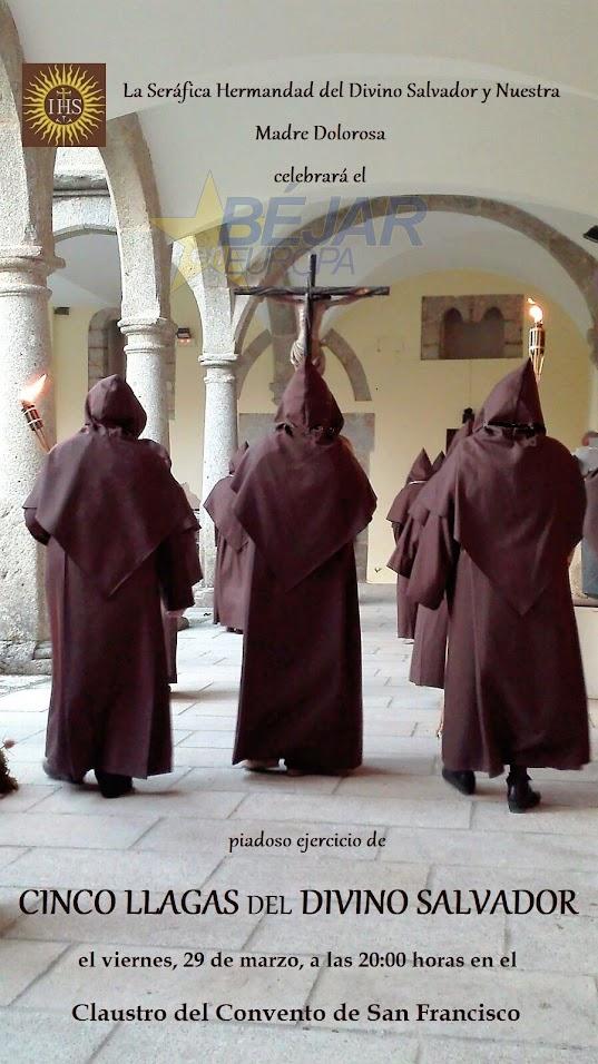 Las cinco llagas de nuestro divino salvador