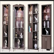 minimalist corner cabinet design
