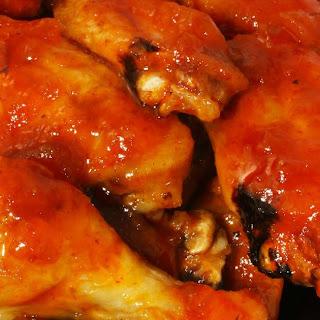 Dragon Fire Chicken Wings.