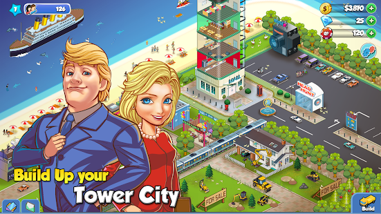 Tower Sim: Pixel Tycoon City- screenshot thumbnail