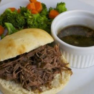 Instant Pot French Dip Sandwiches- Gluten Free Dairy Free Version.