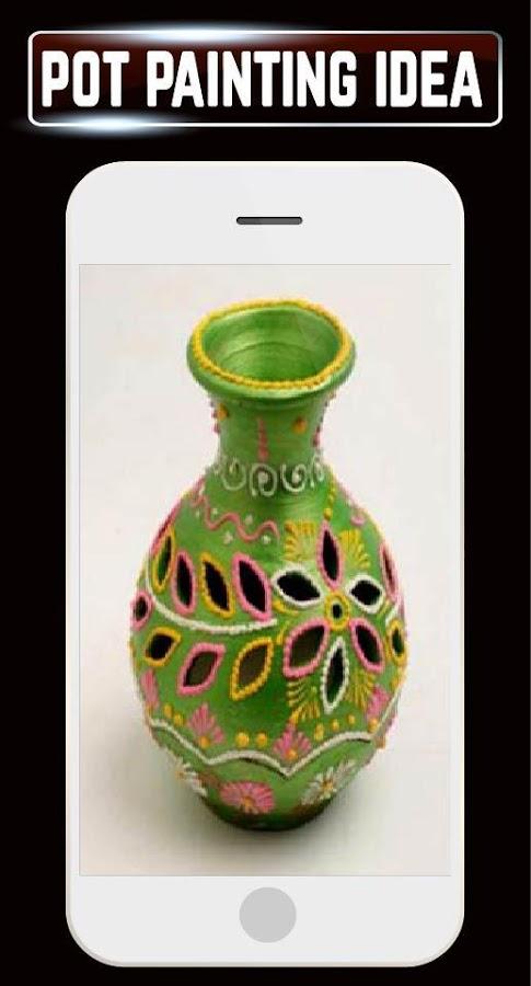 Pot Painting Home Ideas Designs Craft Project DIY- screenshot