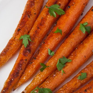 Roasted Carrots with Meyer Lemon Infused Olive Oil Recipe
