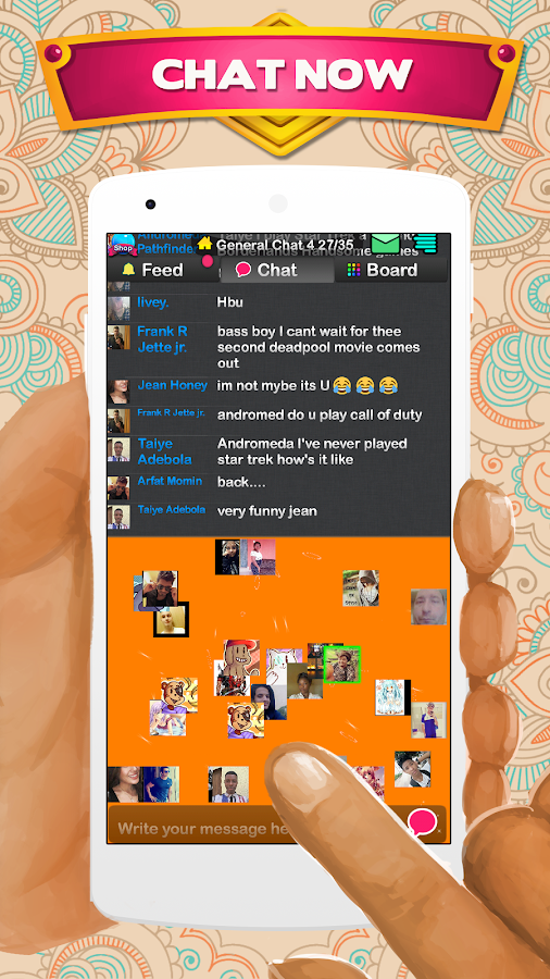 Chat Rooms - Find Friends- screenshot