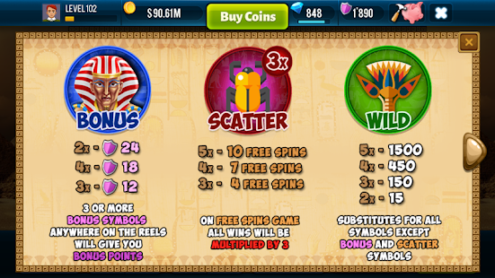Pharaoh Slots Free Casino Game- screenshot thumbnail
