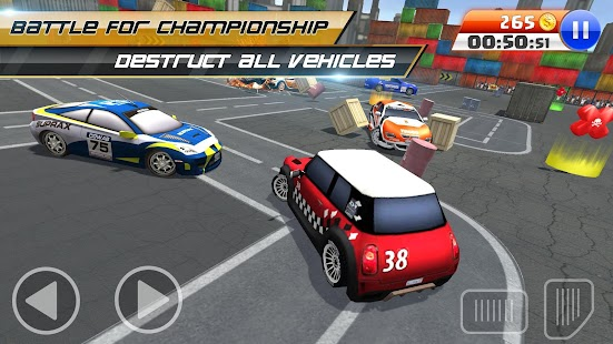 BREAKNECK DEMOLITION DERBY : FREE CAR GAMES