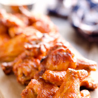 Baked Chipotle Ranch Wings.