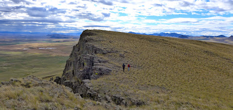 Photo: Along the east side of Crown Butte