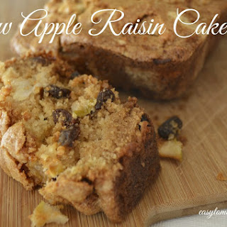 Vanilla Raisin Cake Recipes