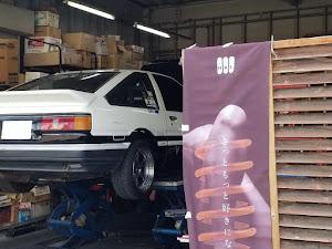 カローラレビン AE86 GT-Vのカスタム事例画像 川内大輔さんの2018年11月25日16:47の投稿