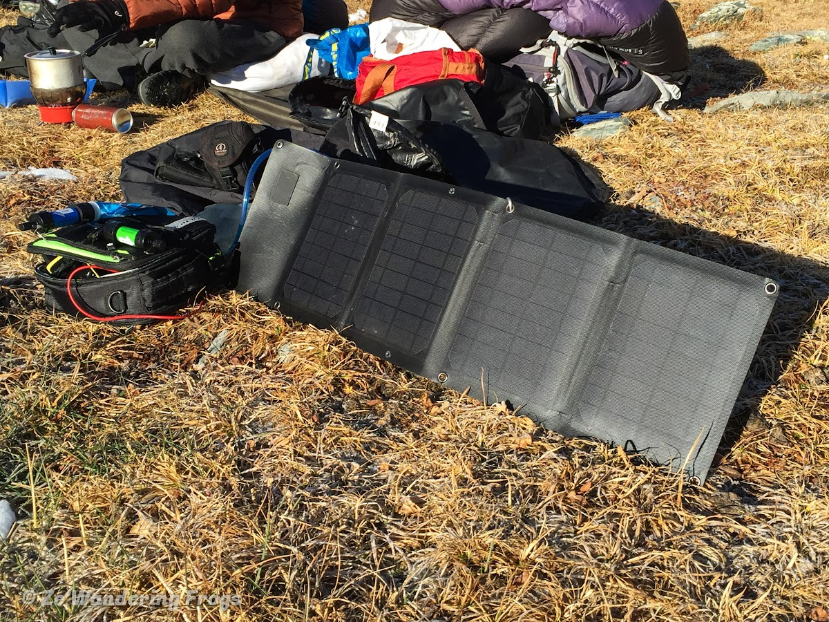 Ultimate. Outdoor Adventure Travel Gear List . Solar Panel