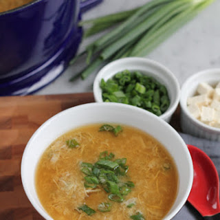 Chinese Egg Drop Soup Recipe