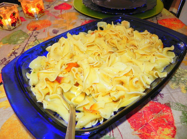 Buttered Egg Noodles Recipe