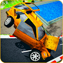 Crazy Impossible Car Crash Stunts: Crash Simulator icon