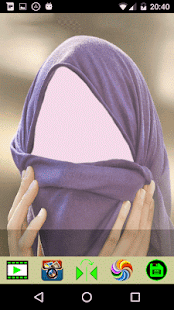 Hijab Selfie FaceApp - náhled