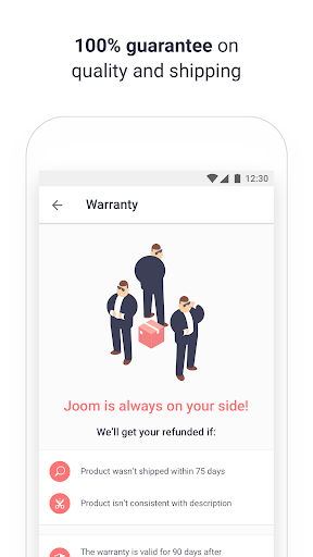 Joom app (apk) free download for Android/PC/Windows screenshot