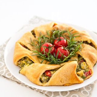 Crescent Roll Vegetable Wreath Recipes