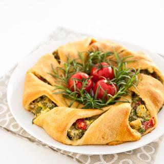 Crescent Roll Wreath Recipes.