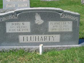 Photo: Fluharty, John W. and Permelia M.