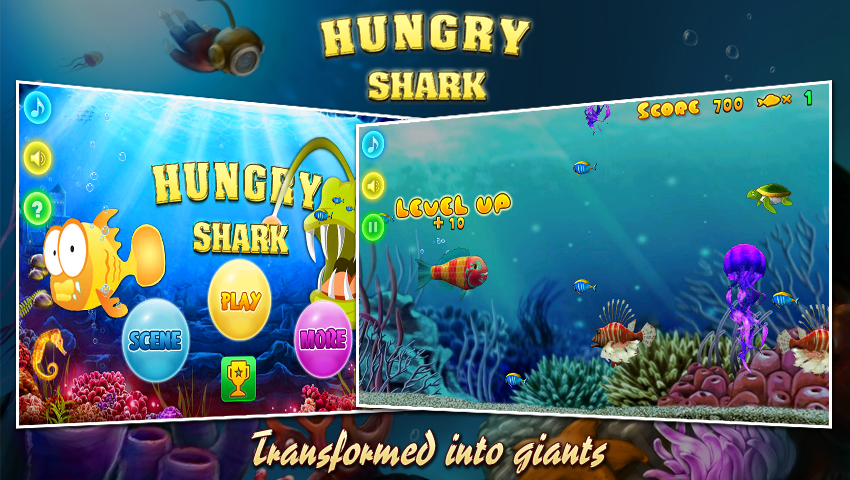 Hungry shark android apps on google play for Hungry fish game