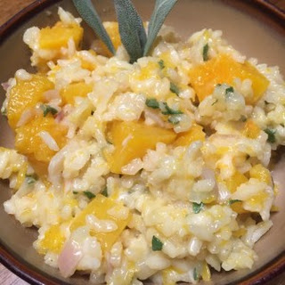 Butternut Squash Risotto with Lava Lake Wit Beer