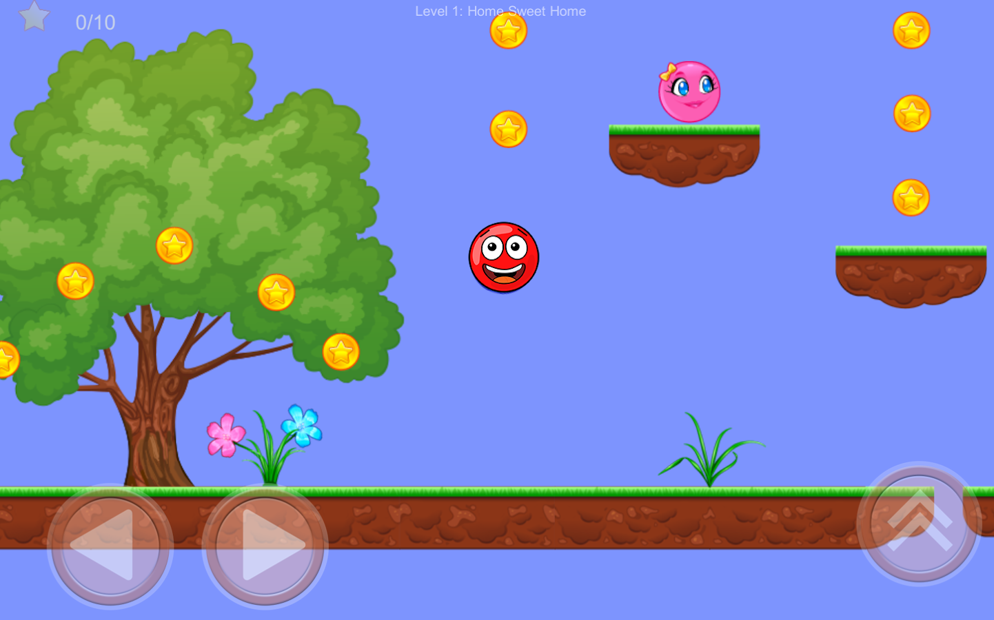 new Red Ball- screenshot