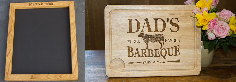 Get a personalised gift this fathers day from The Sign Maker.