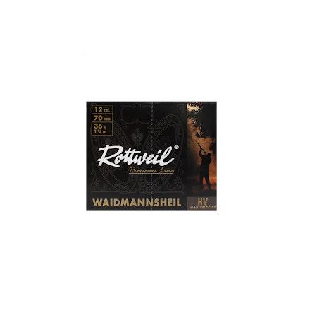 ROTTWEIL Waidmannsheil HV 12/70 36g No3/ 3,5mm