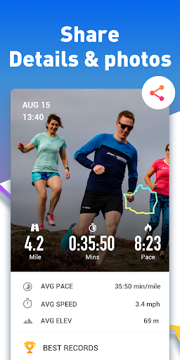 Running App - Run Tracker with GPS, Map My Running 1.1.0 screenshots 3