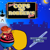 Classic Cops N  Robbers Club Fruit Machine
