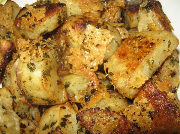 Roasted Parm & Parsley Potatoes, Millie's Recipe
