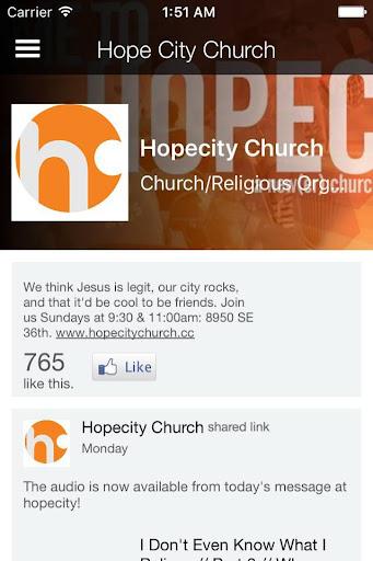 hopecity - pdx