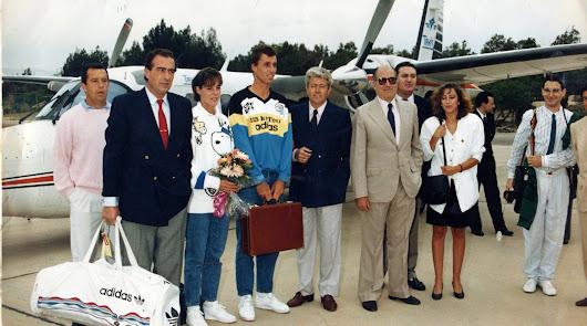 Nos deja Mariano Alcaraz, señor del tenis y del fútbol