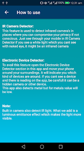 DetectIT PRO Device and Camera Detector Screenshot