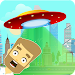 Flying UFO icon